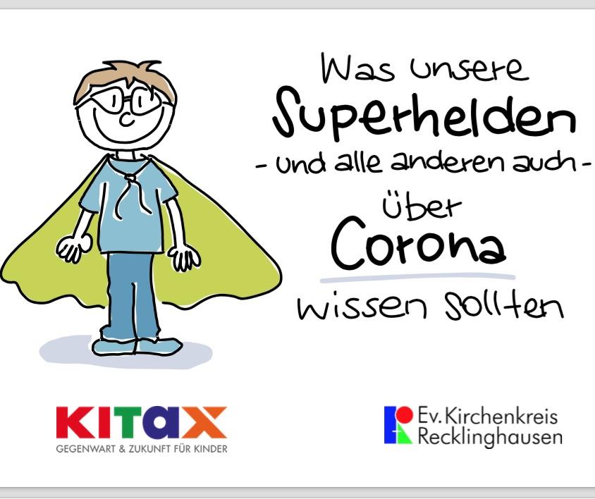 corona für kinder